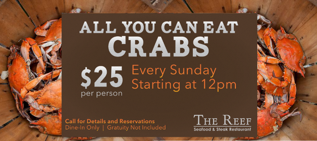 All You Can Eat Crabs